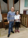 Ния и Николай представиха ОУ Васил Левски на националния кръг Ключът на музиката -  ОУ Васил Левски - Ловеч