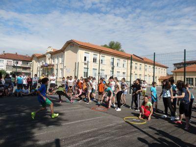 Спортен празник 22.05.18 -  ОУ Васил Левски - Ловеч
